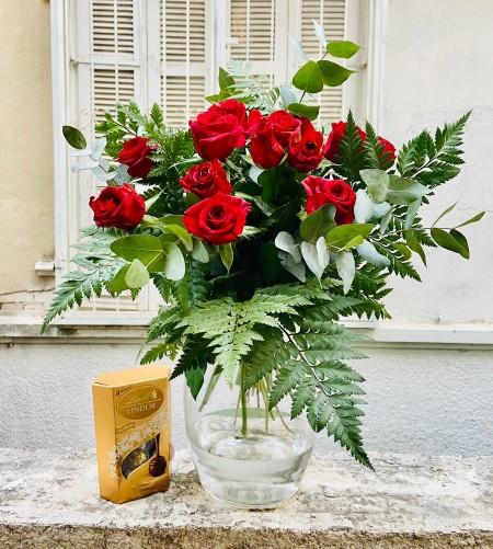 זר ורדים מתוק