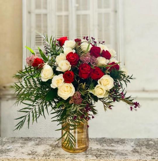 זר ורדים נוגע ללב