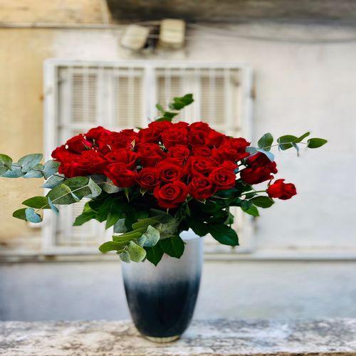ורדים עם ירק