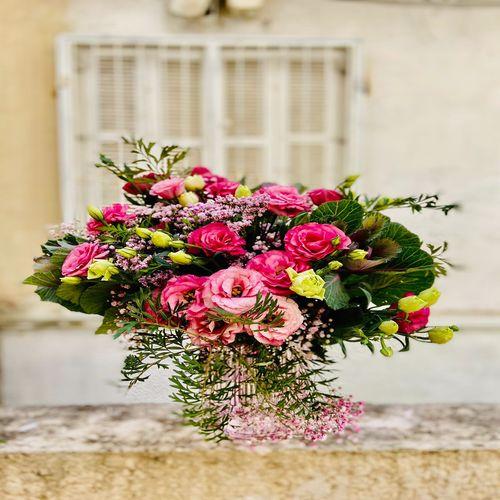 זר ורדים נגיעות